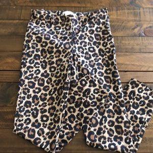 H&M Leopard Print Pant 🐆